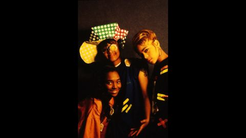 """The ladies of TLC -- that would be Chilli, Left-Eye and T-Boz -- made their industry-changing entrance in 1992 with """"Ooooooohhh ... on the TLC Tip."""" Between their frank approach to sex (""""Ain't 2 Proud 2 Beg""""), smart writing (""""What About Your Friends"""") and distinctive style (yep, the condoms), it makes sense that they <a href=""""http://www.ew.com/ew/article/0,,310196,00.html"""" target=""""_blank"""" target=""""_blank"""">were hailed as</a> """"a perfect pop group for the times."""" Lisa """"Left-Eye"""" Lopes died in 2002, but you can catch the surviving members on that NKOTB tour."""