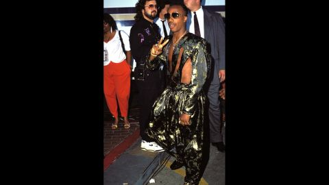 """MC Hammer's hammer pants had a starring role in the music video for 1990's """"U Can't Touch This"""" and, surprisingly, are still around. <a href=""""http://stylenews.peoplestylewatch.com/2013/03/05/pants-justin-bieber-drop-crotch-trousers/"""" target=""""_blank"""" target=""""_blank"""">Just ask Justin Bieber</a>."""