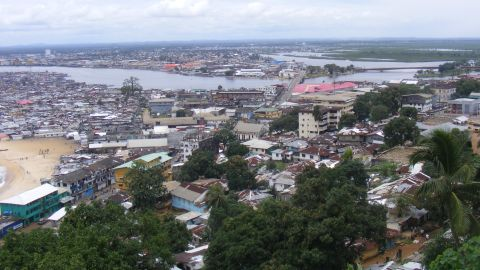 Political stability in recent years has allowed for the redevelopment of essential infrastructure in Monrovia, Liberia's capital -- but it's far from complete.