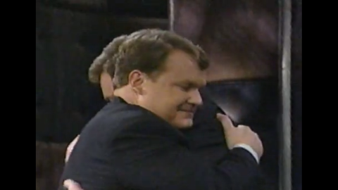 """The year 2000 brought an emotional farewell for Conan O'Brien's sidekick, Andy Richter. The comedian <a href=""""http://articles.latimes.com/2000/may/24/entertainment/ca-33277"""" target=""""_blank"""" target=""""_blank"""">wanted to try his hand at a broader range of TV and film roles. </a>"""
