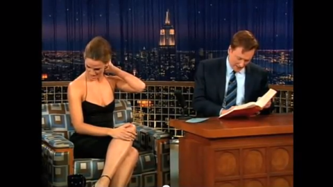 """Jennifer Garner was infamously corrected by Conan O'Brien when she tried to tell him that """"snuck"""" isn't a word. """"Snuck isn't a word, Conan,"""" Garner said in an aside during an anecdote. """"You went to Harvard, you should know that."""" <a href=""""http://www.youtube.com/watch?v=q51ld-scMI8"""" target=""""_blank"""" target=""""_blank"""">O'Brien responded by whipping out a dictionary</a>, locating the entry for """"snuck"""" and giving the """"Alias"""" actress an education on its definition."""