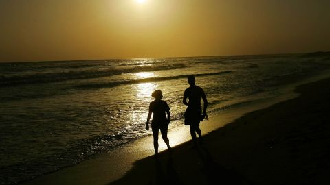 Among Liberia's attractions are its sandy beaches, like Silver Beach, one of the most popular beaches in Monrovia.