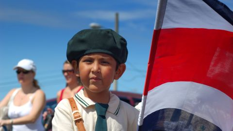 """Independence Day celebrations in Costa Rica often feature<a href=""""http://ireport.cnn.com/docs/DOC-1028926"""" target=""""_blank""""> parades of school children</a> carrying flags and dressed in traditional Costa Rican clothing or other costumes. Bruce Thomson, 29, took this photo in 2006 when he was living in the country. """"Celebrations often begin the night before with town gatherings and the lighting of home-made, patriotically decorated lanterns,"""" said the World Bank economist."""