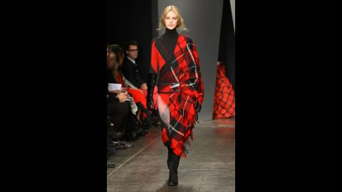 Donna Karan's fall 2012 show during New York Fashion Week in February 2012.