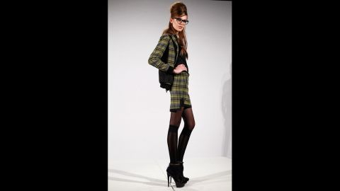The L.A.M.B. fall 2012 fashion show during New York Fashion Week in February 2012.