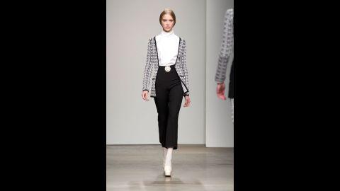 The Giulietta fall 2012 fashion show during New York Fashion Week in February 2012.