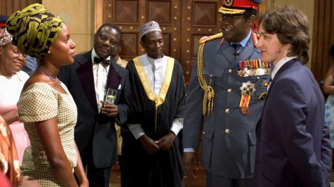 """In 2006, Washington appears as Kay Amin, dictator Idi Amin's youngest wife, opposite Forest Whitaker and James McAvoy in """"The Last King of Scotland."""""""