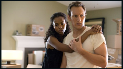 """Washington and Patrick Wilson play a married couple in the 2008 crime drama """"Lakeview Terrace."""""""