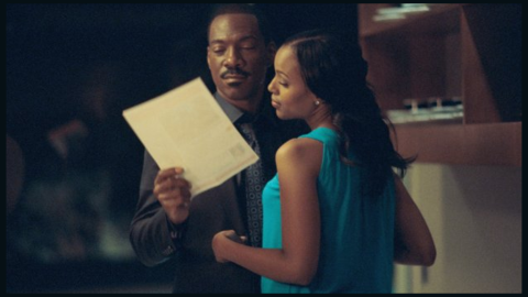 """Few probably remember her 2012 role opposite Eddie Murphy in """"A Thousand Words."""""""