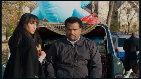 """The actress goes for laughs with Craig Robinson in the 2013 comedy """"Peeples."""""""