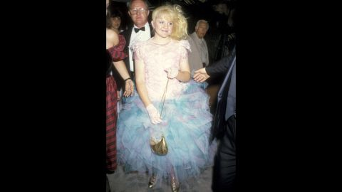 """""""Family Ties"""" star Tina Yothers wore a scene-stealing -- and era-appropriate -- dress to the 1986 Emmys."""