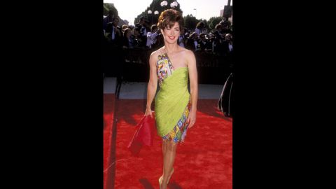 """Dana Delany, who was starring in """"China Beach"""" at the time, was an eye-catching outstanding lead actress nominee at the 1990 Emmys. (She later won for the same role in 1992.)"""