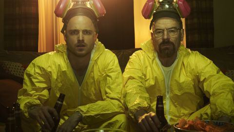 """With so many plot twists and the ongoing character development, AMC's """"Breaking Bad"""" was a popular choice for binge-watching from beginning to end. Season 2 posed a problem for some, but """"if you can get over that season 2 hump, you'll probably enjoy it a lot,"""" <a href=""""http://www.reddit.com/r/AskReddit/comments/2llwhe/what_television_series_is_so_good_its_worth_binge/clw430j"""" target=""""_blank"""" target=""""_blank"""">one Redditor said</a>."""