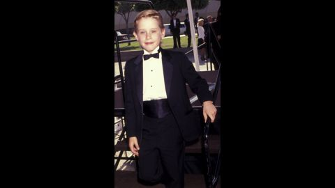 """""""Home Alone"""" star Macaulay Culkin put on his kid-sized best for the 1991 Emmys."""