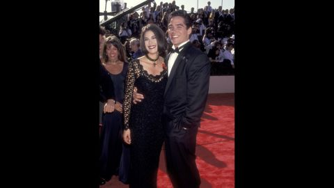 """""""Lois & Clark: The New Adventures of Superman"""" co-stars Teri Hatcher and Dean Cain stuck close on the red carpet at the 1993 Emmy Awards. The series recently celebrated the 30th anniversary of its pilot episode."""
