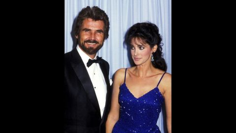 """In 1985, James Brolin attended the Emmys with his """"Hotel"""" co-star Connie Sellecca."""