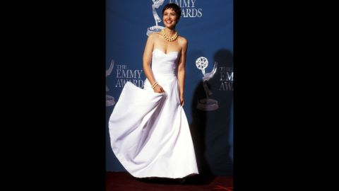 """""""Northern Exposure"""" actress Janine Turner had impeccable style at the 1992 Emmys."""