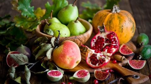 """The weather is getting cooler, but your produce choices are heating up. These amazing superfoods, picked by our friends at <a href=""""http://www.health.com"""" target=""""_blank"""" target=""""_blank"""">Health.com</a>, are either hitting their peak in the garden or can easily be found in your local farmers market or grocery store. They're the perfect excuse to get cooking on cool nights!"""