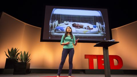 Jane Chen speaks at TED2013.