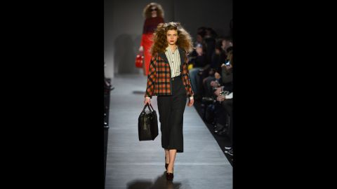 Marc By Marc Jacobs fall 2013 show during Mercedes-Benz Fashion Week in February.