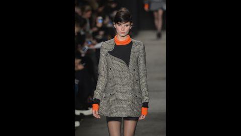 Rag & Bone's fall 2013 show during Mercedes-Benz Fashion Week in February.