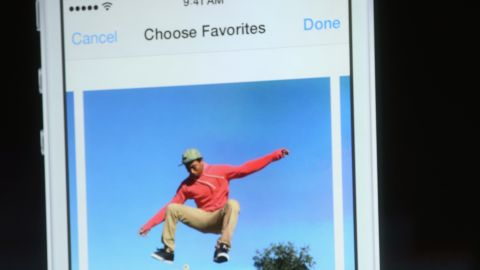 The camera on the iPhone 5S has a 15% larger sensor to let in more light and shoot sharper images. A burst mode, for photographing moving targets, lets the user shoot up to 10 photos per second. And, for the first time, video can be played in slow motion.