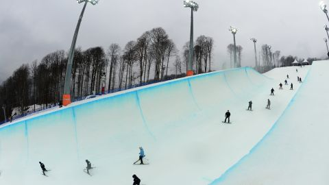 """The snowboarding and freestyle competitions will take place at the """"Rosa Khutor"""" Extreme Park in the Mountain Cluster. The venue has already been used for World Cup events and is considered one of the top facilities in the world."""