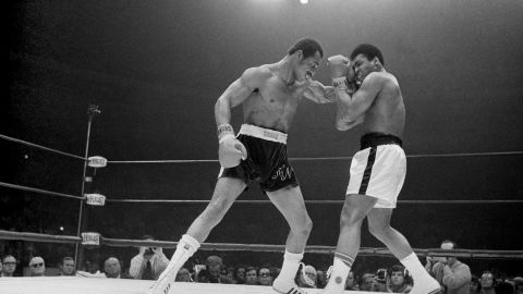 """Forty years after rising to the top of the boxing world and outdueling Muhammad Ali, <a href=""""http://www.cnn.com/2013/09/18/us/ken-norton-dies/index.html"""">Ken Norton</a>, left, died at a Nevada medical facility after a stroke on September 18. He was 70."""