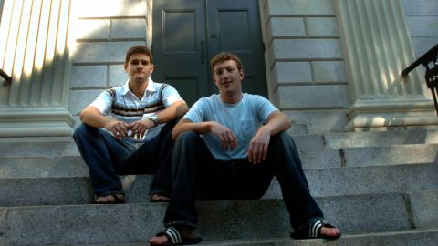It has been more than 10 years of change for Facebook, the social network founded February 4, 2004, by Mark Zuckerberg, right, Dustin Moskovitz and three other classmates in a Harvard dorm room. From its awkward beginnings to an international phenomenon with 1.4 billion users, here's a look at the many faces of Facebook.