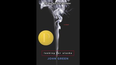 """John Green's """"Looking for Alaska"""" returned to the top 10 list for the second time in 2013. The <a href=""""http://www.cnn.com/2014/06/06/living/ya-adult-readers-embarassed/index.html"""">coming-of-age tale</a> about a teen who falls in love at boarding school won the ALA's 2006 <a href=""""http://www.ala.org/yalsa/printz"""" target=""""_blank"""" target=""""_blank"""">Michael L. Printz Award</a> for the best book written for teens."""