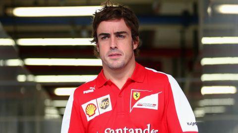 Ferrari's two-time world champion Fernando Alonso drove for McLaren during the 2007 season.