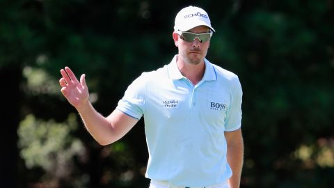 Sweden's Henrik Stenson produced another composed display at Atlanta's East Lake Golf Club on Friday.