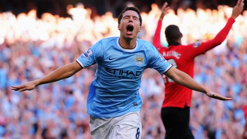 """Manchester City midfielder Samir Nasri, who was also photographed making the """"quenelle"""" gesture, insisted he used it to symbolize """"being against the system."""" He tweeted: """"It has absolutely nothing to do with being anti-Semitic or against Jewish people. I apologize for causing any hurt to anyone."""""""