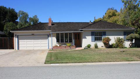 Steve Jobs' childhood home in Los Altos, California