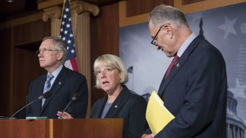 <strong>Sen. Patty Murray, D-Washington</strong> -- The consigliore.  Murray, center, does not seek the outside limelight, but the Senate Budget Committee chairwoman is a major fiscal force behind the scenes on Capitol Hill.  Known by fellow Democrats as a straight shooter, she is also an experienced negotiator, having co-chaired the laborious, somewhat torturous and unsuccessful Super Committee.