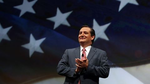 Cruz speaks during the National Rifle Association's Annual Meeting and Exhibits in May 2013.