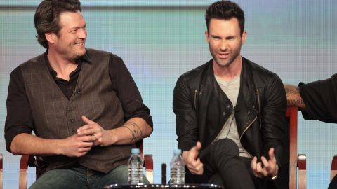 """For some fans, the relationship and competition between Blake Shelton and Adam Levine are big reasons to watch """"The Voice."""" The show has played up the pair's bromance, but that hasn't made them less competitive, often needling each other along the way. Levine won the first season and Shelton has won every season since."""