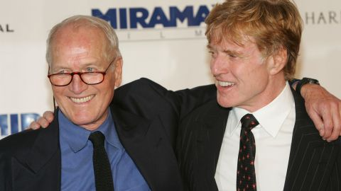 """The film """"Butch Cassidy and the Sundance Kid"""" was one of the highlights of a beautiful friendship between Robert Redford (right) and the late Paul Newman. They worked together again in """"The Sting."""" When Newman died in 2008, Redford <a href=""""http://abcnews.go.com/WN/story?id=5914309&page=1"""" target=""""_blank"""" target=""""_blank"""">spoke at length</a> about their relationship, praising Newman's social responsibility and his sense of fun."""