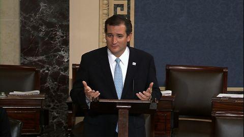Sen. Ted Cruz spoke for more than 21 hours on the Senate floor against Obamacare