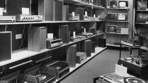 Whole stores were once devoted to stereo components. That hasn't been the case in years.