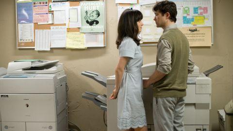 "Zooey Deschanel and Joseph Gordon-Levitt star in ""(500) Days of Summer."""