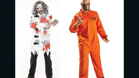 """British retailers have removed """"mental patient"""" and """"psycho ward"""" Halloween costumes from their online stores. Schizophrenia isn't so lighthearted, so maybe remove them from your costume closet, too?"""