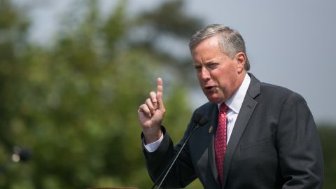 """<a href=""""http://www.cnn.com/2013/09/27/politics/house-tea-party/index.html""""><strong>Rep. Mark Meadows, R-North Carolina</strong></a><strong> </strong>--<strong> </strong>The architect. During Congress' August recess, the tea party-backed freshman wrote to Republican leaders suggesting that they tie dismantling Obamacare to the funding bill. Though initially rejected by GOP leadership, 79 of Meadows' House colleagues signed on to the letter, which quoted James Madison writing in the Federalist Papers, """"the power over the purse may, in fact, be regarded as the most complete and effectual weapon ... for obtaining a redress of every grievance."""""""