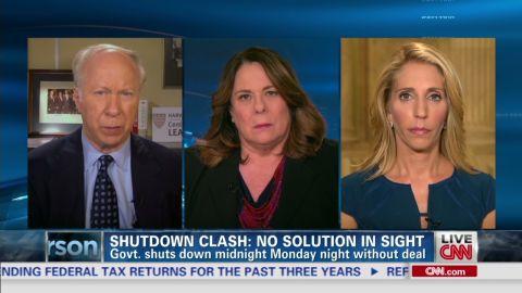 ac government shutdown showdown bash gergen crowley intv_00031617.jpg