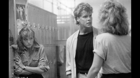 """In """"Some Kind of Wonderful,"""" Craig Sheffer plays Hardy Jenns, boyfriend of Lea Thompson's character, left, and a world-class jerk."""