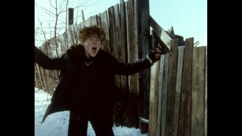 """In the holiday classic """"A Christmas Story,"""" Zack Ward plays Scut Farkus, who's always gunning for a fight."""