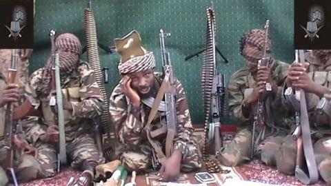 Boko Haram leader Abubakar Shekau.