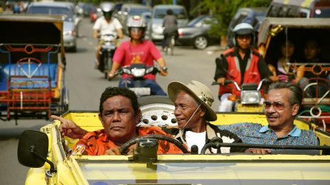 """<a href=""""http://cnn.com/2013/09/29/world/asia/indonesia-act-of-killing-bali/"""">""""The Act of Killing,""""</a> a 2012 documentary, follows unrepentant death squad leader Anwar Congo, center, as he and others reenact their violent acts from 48 years ago. It has had a big impact in Indonesia as the country struggles to address the anti-communist purges that led to an estimated 1 million deaths."""