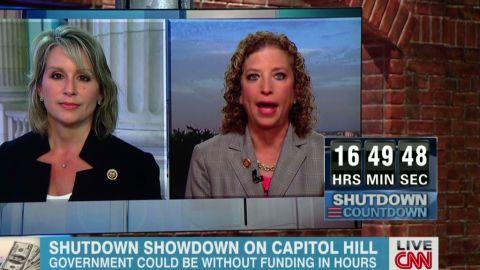 Government shutdown Ellmers Schultz  Newday _00013810.jpg