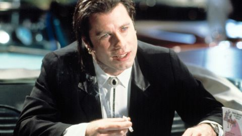 """The revival of John Travolta's career via playing hit man Vincent Vega in the 1994 film """"Pulp Fiction"""" was almost as surprising as the way<a href=""""http://www.youtube.com/watch?v=qzPZOh2IfEc"""" target=""""_blank"""" target=""""_blank""""> his character gets taken out</a> in that film. Toaster pastries, anyone?"""